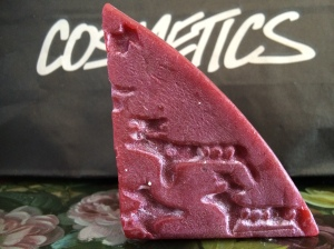 Lush Cosmetics Reindeer Rock Soap