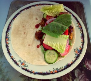 vegetable-burger-wrap