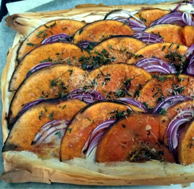 Pumpkin-and-purple-onion-tart