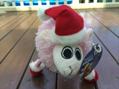 Pink-Lamb-Dog-Toy