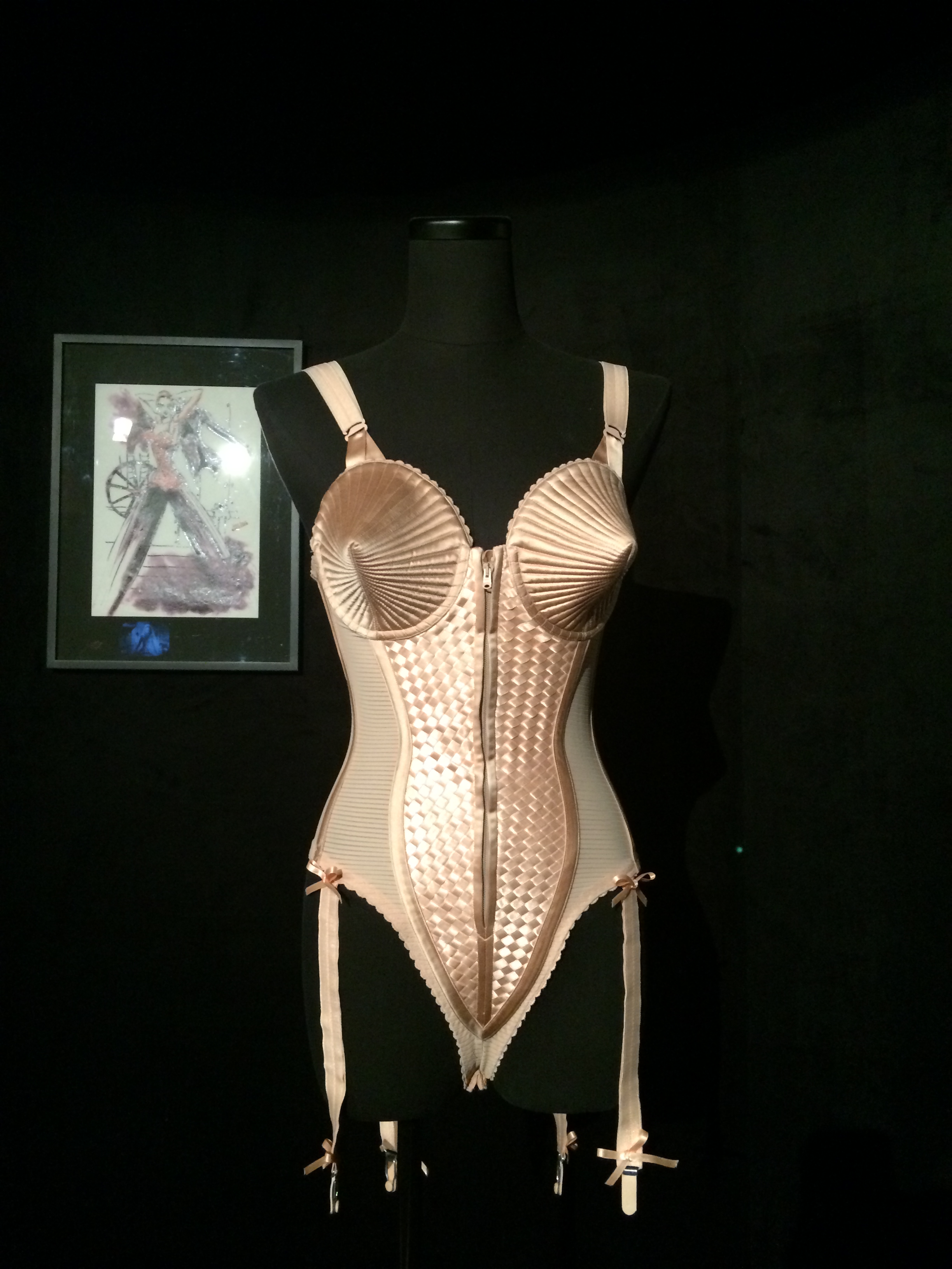 Jean Paul Gaultier in Fashionable Exhibition